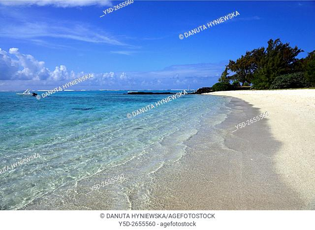 Africa, Mauritius, Grand Port District , Blue Bay coast