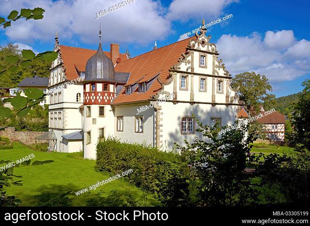 Schenckschloss in Buchenau- Eiterfeld, Landkreis Fulda, Hesse, Germany