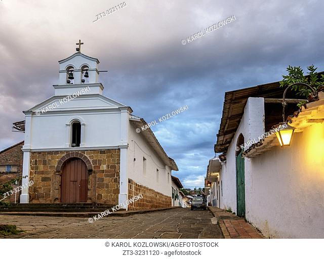San Antonio Chapel, Barichara, Santander Department, Colombia