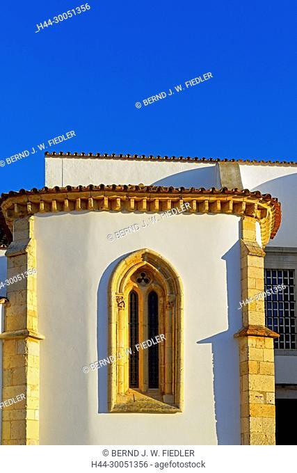 Sé Catedral de Faro, Igreja de Santa Maria, church window, Faro Portugal