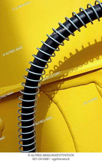 Flex cable, agricultural machinery