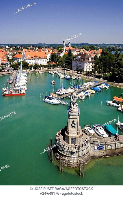 Germany. July 2007. Bodensee Lake. Lindau