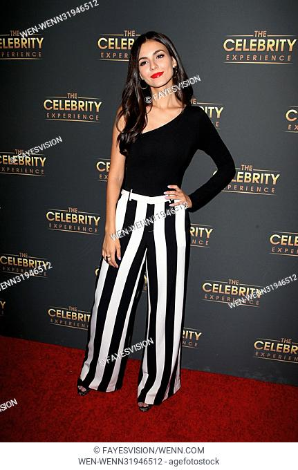 The Celebrity Experience event - Arrivals Featuring: Victoria Justice Where: Los Angeles, California, United States When: 16 Jul 2017 Credit: FayesVision/WENN