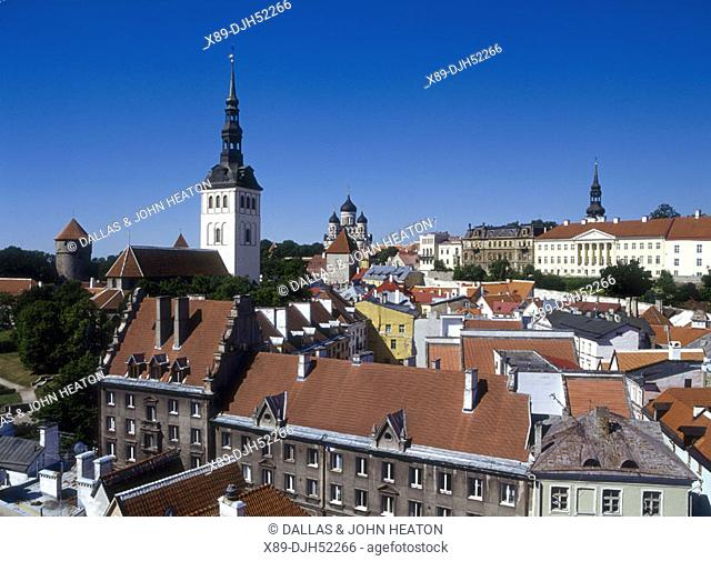 St, Nicholas Church, Toompea, Old Town, Tallinn, Estonia