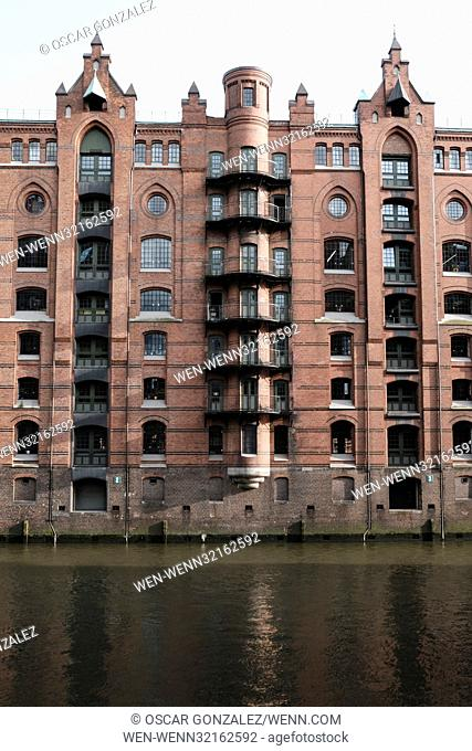 Speicherstadt, located in Hamburg, Germany, is the largest wood-piled warehouse district in the world. It is located in the Port of Hamburg, within HafenCity