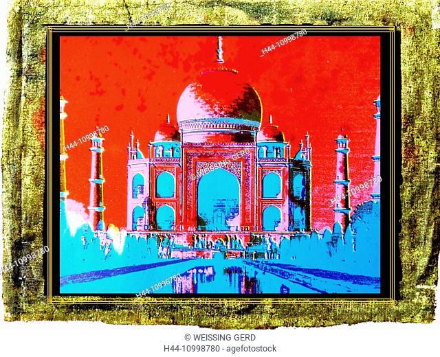 Taj Mahal, Indian temple