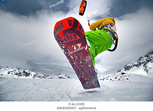 snowkiter, Austria