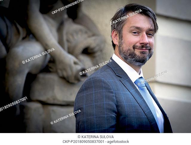 ***SEPTEMBER 5, 2018, FILE PHOTO*** Deputy Defence Minister Jakub Landovsky will be the new Czech ambassador to NATO, replacing Jiri Sedivy