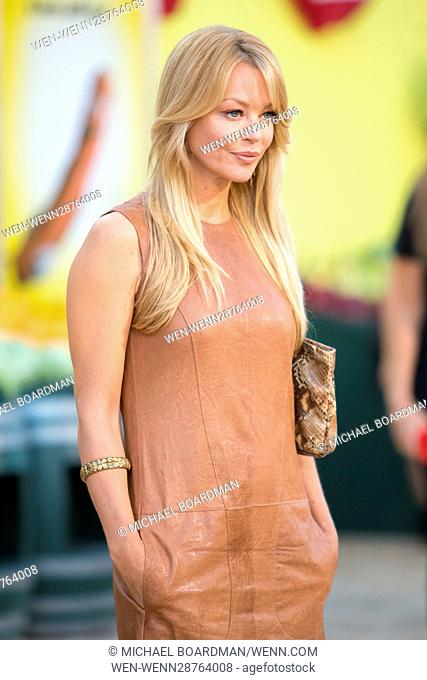 Charlotte Ross attending the Los Angeles premiere of Sony's 'Sausage Party' at the Regency Village Theatre in Westwood, California