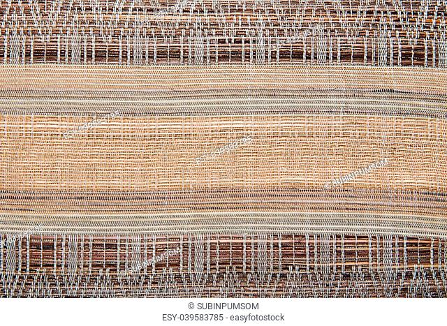 Colorful african peruvian style rug surface close up. More of this motif & more textiles in my port