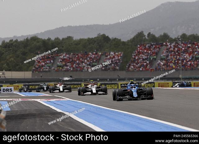 # 31 Esteban Ocon (FRA, Alpine F1 Team), F1 Grand Prix of France at Circuit Paul Ricard on June 20, 2021 in Le Castellet, France. (Photo by HOCH ZWEI)
