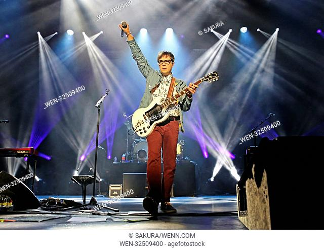Weezer performing at Manchester O2 Apollo Featuring: Weezer, Rivers Cuomo Where: Manchester, United Kingdom When: 25 Oct 2017 Credit: Sakura/WENN.com
