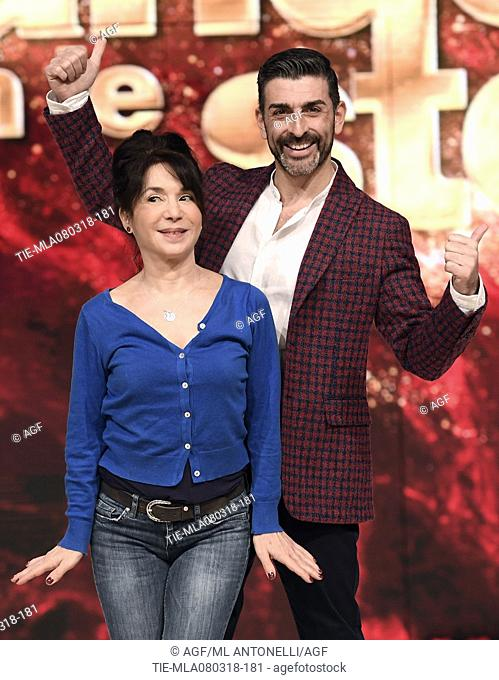 Don Diamont During Dancing With The Stars Tv Show Rome Italy 08