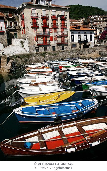 Mundaka port Basque Country  Spain