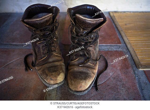 Farmer's work boots