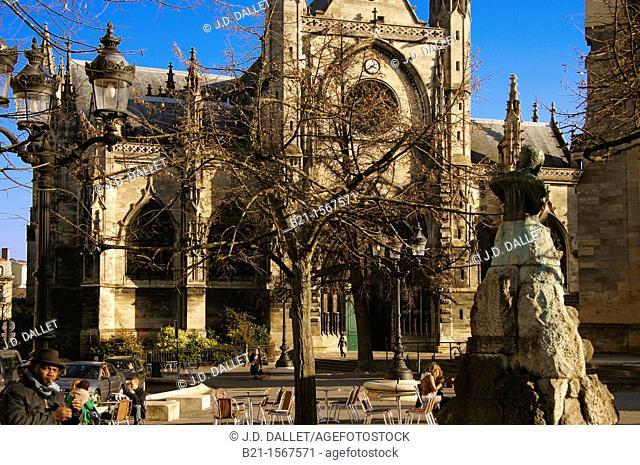 France, Aquitaine, Gironde, Basilic Saint Michel, at Bordeaux