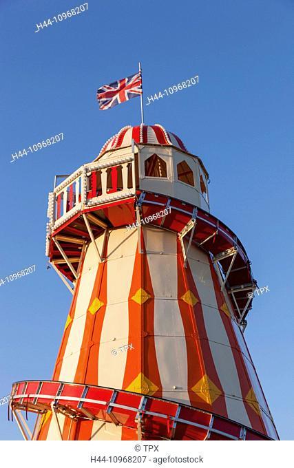 England, Europe, London, Stratford, Queen Elizabeth Olympic Park, ArcelorMittal Orbit, and Helter Skelter