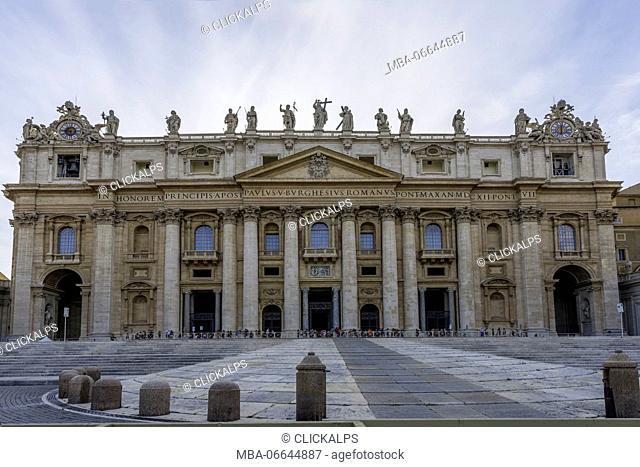St. Peter Basilica, Vatica, Rome, Lazio district, Italy