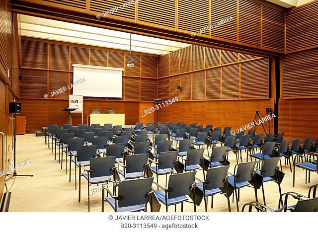 Congress rooms, Kursaal Congress Palace, Donostia, San Sebastian, Gipuzkoa, Basque Country, Spain, Europe