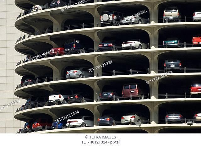 Parking garage Marina City Chicago Illinois USA