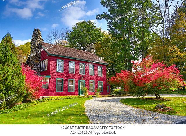 USA ,Massachusetts, Berkshire District, Near Lee City, Red House