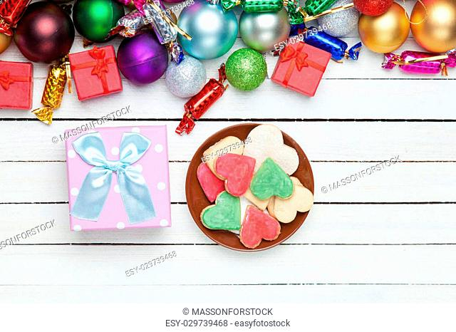 Cookies and chritmas gifts
