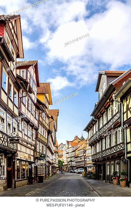 Germany, Lower Saxony, Hannoversch Muenden, Old town