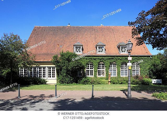Germany, Xanten, Rhine, Lower Rhine, North Rhine-Westphalia, NRW, Caritas welfare centre, house for senior citizens