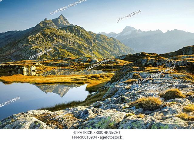 Gärstenhörner - 3189 m, Galenstock - 3586 m, Schweiz