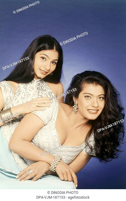 Portrait of Kajol and Tanisha