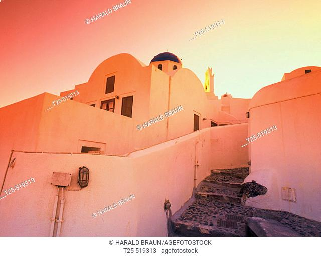 Sunrise, Oia, Santorini, Cyclades, Greece