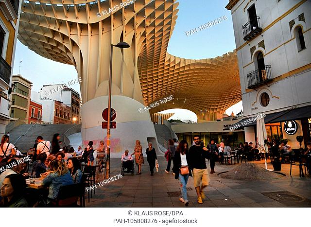 Counting 700, 000 inhabitants the city of Sevilla is the capital of the Andalusian region and the fourth largest city in Spain, pictured in May 2018