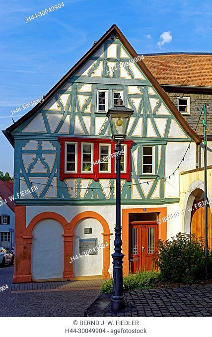 House of the Diakonie, half-timbered house, Kirchheimbolanden Germany