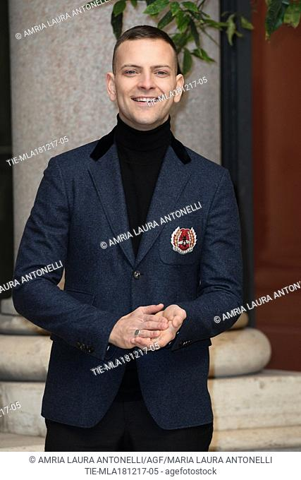Alessandro Borghi During Napoli Velata Film Photocall Rome Italy 18 12 2017 Stock Photo Picture And Rights Managed Image Pic Tie Mla181217 05 Agefotostock