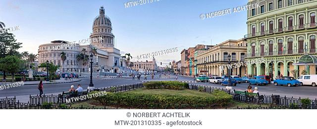The Capitol, Paseo de Marti, Havana, Cuba