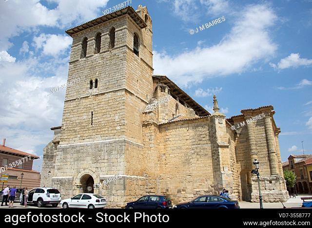 Fromista, San Pedro church (gothic 15-16th centuries). Tierra de Campos, Palencia province, Castilla y Leon, Spain