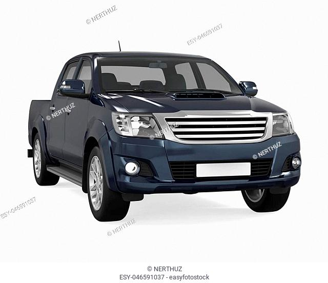 4x4 Pickup Truck White Background Stock Photos And Images