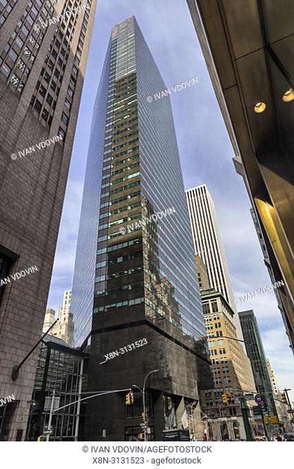 IBM building, 590 Madison Avenue, Midtown Manhattan, New York City, USA
