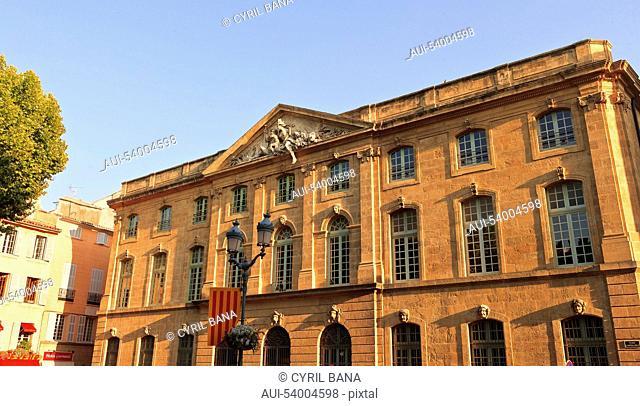France, Aix en France, Provence, building
