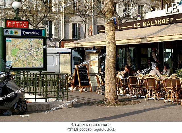 Métro Chatelet, 1° arrondissement, Ile-de-France, Paris, France