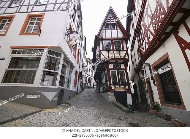 Bernkastel-Kues - town in Rhineland-Palatinate region of Germany Pointed house
