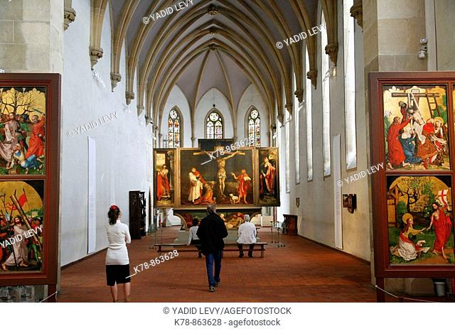 Sep 2008 - The Issenheim Altarpiece in the Unterlinden Museum, Colmar, Alsace, France