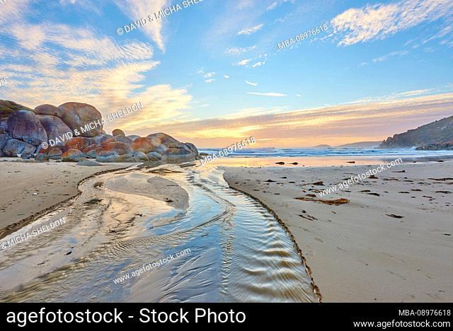 Landscape, Whiskey Beach, Wilsons Promontory National Park, Victoria, Australia, Oceania
