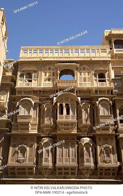 patwon ki haveli Jaisalmer Rajasthan India Asia