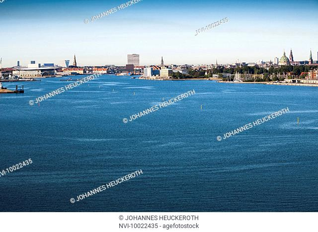 Skyline of Copenhagen, Denmark