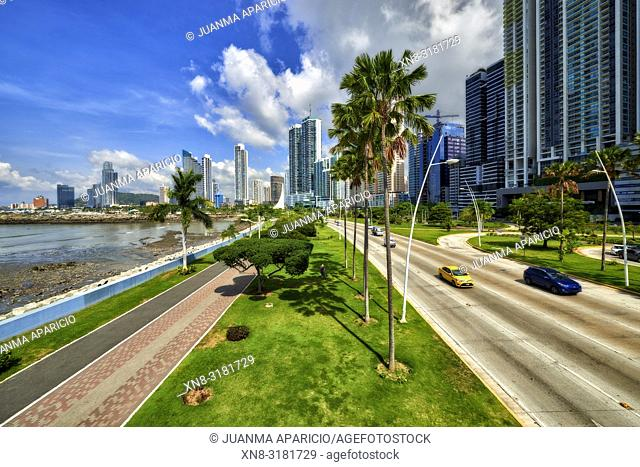 Cinta Costera, Panama City, Republic of Panama, Central America, America