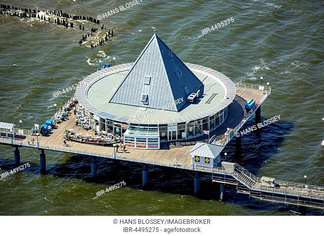 Heringsdorf Pier, Ponte Rialto, Heringsdorf, Usedom Island, Baltic Sea, Mecklenburg-Western Pomerania, Germany
