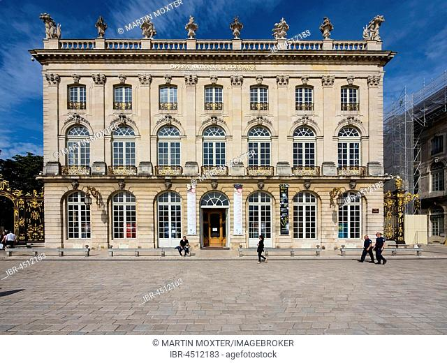 Lorraine National Opera House, Opera National de Lorraine, Place Stanislas, Nancy, Meurthe-et-Moselle, Lorraine, France