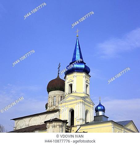 Dormition church, 1540s, Ivanishi, Tver region, Russia