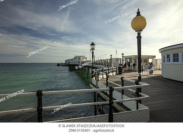 Worthing Pier, West Sussex, England